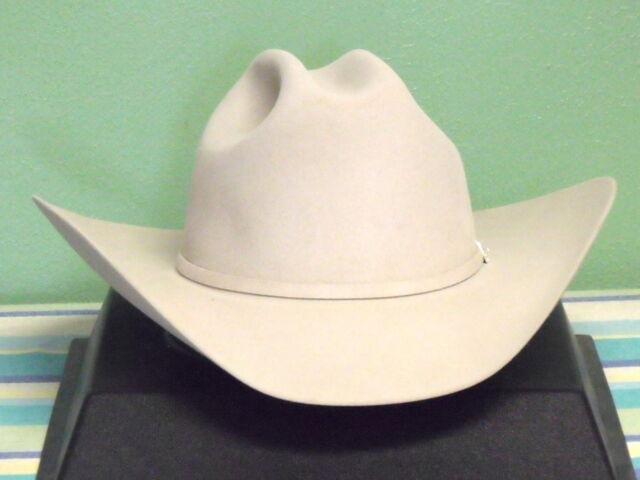 c8b37221084ba Stetson Lariat 5x Fur Felt Cowboy Western Hat Silverbelly(light Tan ...