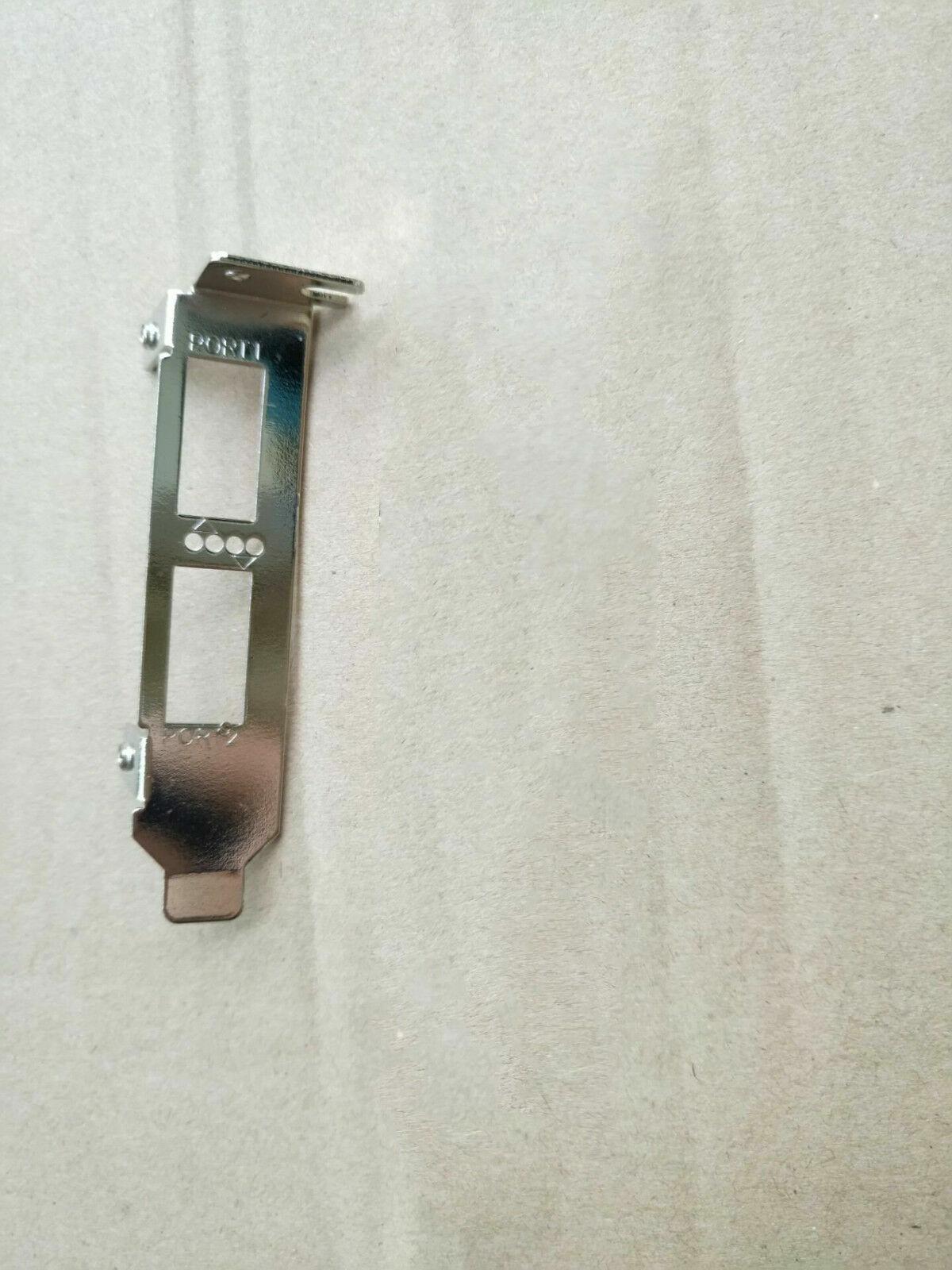 50PCS Low Profile Bracket for Mellanox CX354A MCX354A-FCBT MCX354A-QCBT CX314A