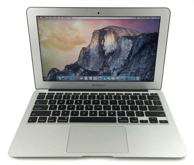"""Apple MacBook Air 11"""" Intel i5 4250U 1.3Ghz 4Gb Ram 128GB SSD OS X Sierra"""