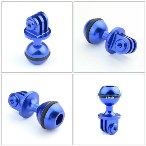 """0.98/"""" Ball Head Adapter Fits for GoPro Diving Arm Mount RAM Mount Adapter"""