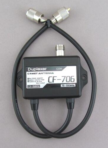 COMET CF-706A HF//6M//2 MTR 70cm  DUPLEXER  ICOM 706// FT 857 AUTHORIZED DEALER F//S