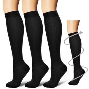f8cdbd79dc Image is loading Men-Women-Leg-Support-Stretch-Compression-Socks-Below-