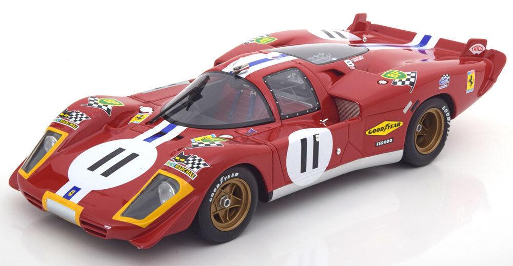 Cmr Ferrari 512S 24h Le Mans 1970 Bucknum   Posey  18 Escala Nuevo en