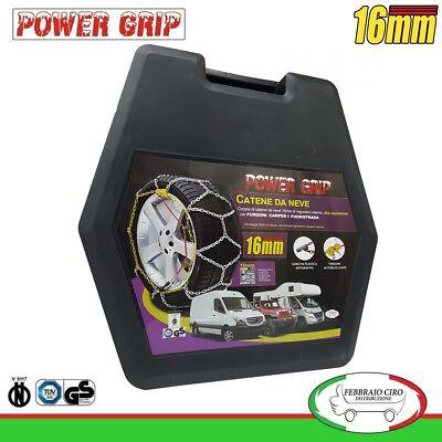 12S267 Catene Neve Power Grip 12mm Suv Omologate Gruppo 267 gomme 255//70r18