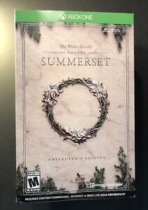 The-Elder-Scrolls-Online-Summerset-Collector-039-s-Edition-XBOX-ONE-NEW