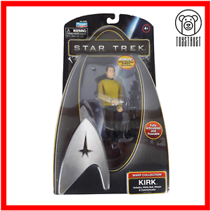 Kirk-Action-Figure-Star-Trek-Warp-Collection-Posable-Toy-TV-Character-4-Boxed