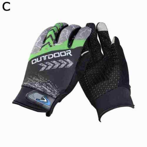 Full Finger Glove Racing Motorcycle Gloves Cycling Mitts MTB AU Bicycle U3O5
