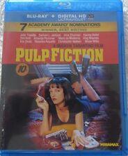 Pulp Fiction (Blu-ray Disc, 2011) Bruce Willis, Uma Thurman - No Digital