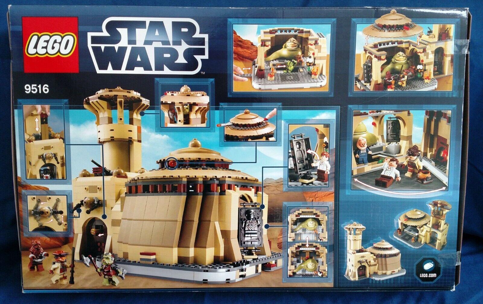 Lego Star Wars Jabba's Palace, Caja Sellada De Fábrica