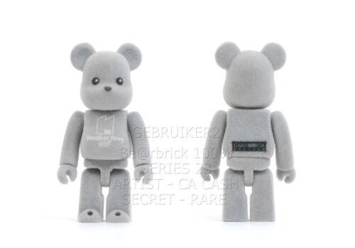 Medicom Toy Bearbrick 100/% SERIES 23 ARTIST CASH CA SECRET flocked Be@rbrick
