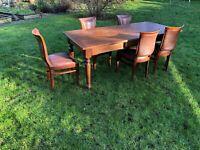 Spisebord, Massivt Kirsebær, ?, b: 90 l: 200
