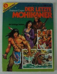 classicomics-Nr-6-der-letzte-Mohikaner-Fenimore-Cooper-64-farbige-Seiten-B9228