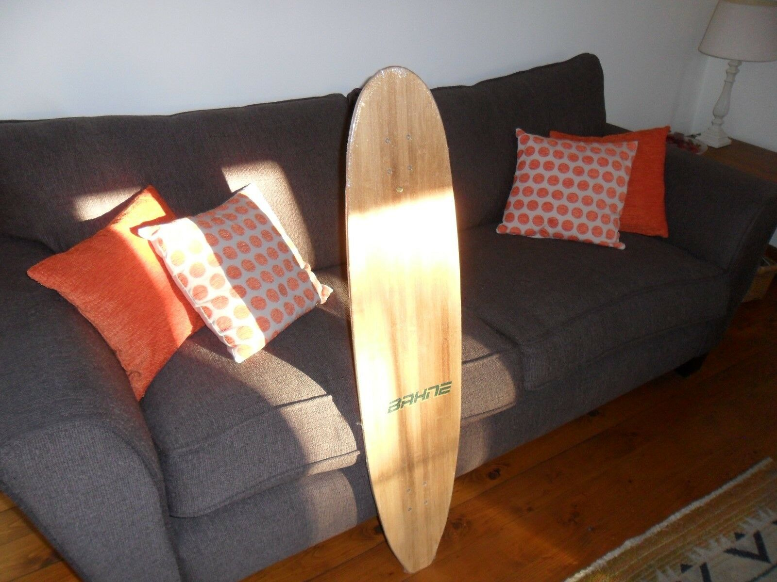 SALE  BRAND NEW BAHNE(since 1972) TOP QUALITY  BAMBOO CARVER LONGBOARD 44 X 9