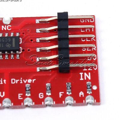 "DC 5V TPIC6C596 Large Digit Driver Drive 6.5/"" 7-Segment LED Display Andrino"