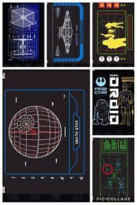 Topps-Star-Wars-Digital-Card-Trader-6-Card-Stay-On-Target-Insert-Set