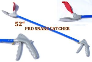 52-034-Pro-SNAKE-TONGS-Reptile-Grabber-Rattle-Snake-Catcher-WIDE-JAW-Handling-Tool