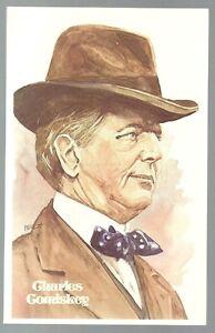 20-CHARLES-COMISKEY-Perez-Steele-Hall-of-Fame-Postcard