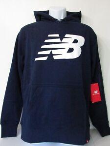 navy new balance hoodie
