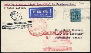 Zeppelin-Grossbritannien-1933-6-Suedamerikafahrt-Zuleitungspost-Si-229-B-774