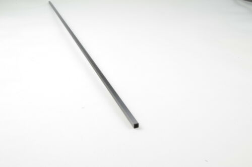 CFK-Vierkantrohr 4x4x0,7x1000 mm 13 g