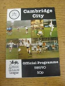 25101989 Cambridge City v Bromsgrove Rovers  team changes - Birmingham, United Kingdom - 25101989 Cambridge City v Bromsgrove Rovers  team changes - Birmingham, United Kingdom