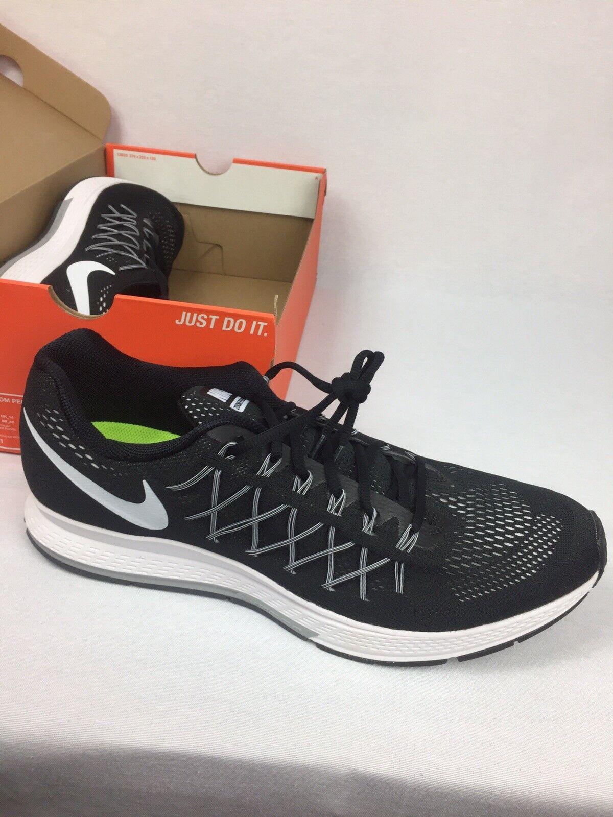 Nike air zoom pegasus 32 Black white Mens shoes Size 9 NWB Has A Name On shoes