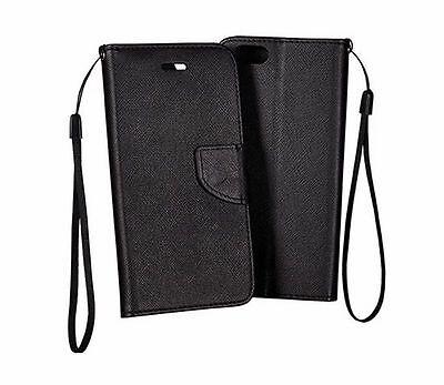^ Book Case Schutz Hülle Handy Tasche Lederimitat Etui Flip Cover Lenovo K6