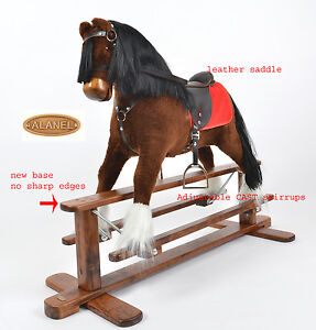 MEW-MAGNUM-Handmade-Brand-New-LARGE-Rocking-Horse-MADE-IN-EUROPE-from-ALANEL