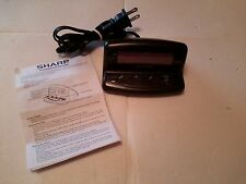 Sharp  Alarm Clock With Battery Backup Model SPC026