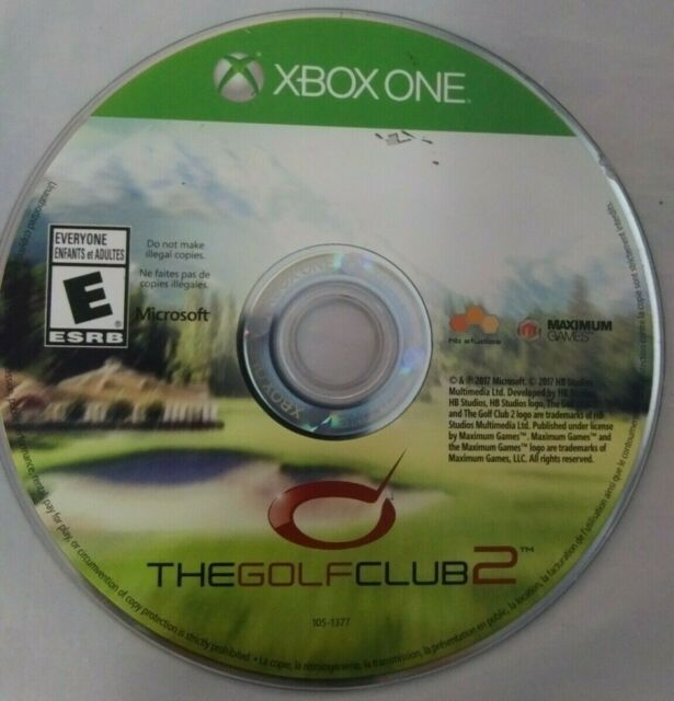 The Golf Club 2 Microsoft Xbox One CD Only No Manual | eBay