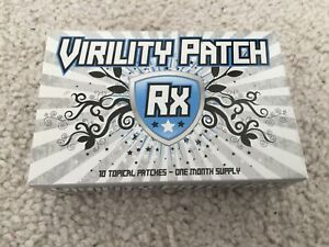 Nib Virility Patch Rx Male Enhancement Better Sex 10 Patches Ebay