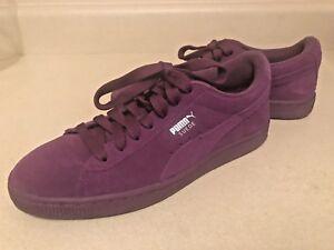 30b19cb4659 PUMA Suede JR Classic Sneaker Imperial Purple Shoes 35511070 size ...