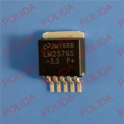 10PCS IC NSC TO-263 LM2576S-3.3 LM2576SX-3.3