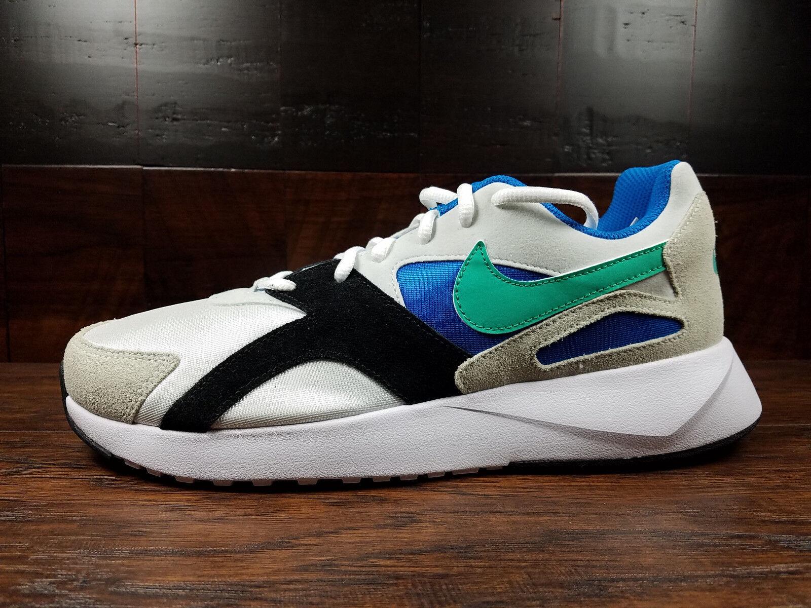 Nike Pantheos (blancoo Kinetic verde Azul) Retro  Nsw Para Hombre 8-11