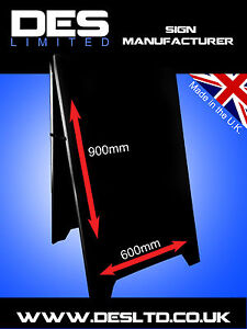 Metal-Steel-Advertising-Sign-A-Board-Sign-Pavement-Sign-Board-Made-in-England