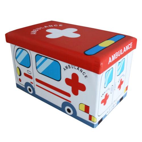 Stylehome ® Tabouret pliable enfants Boîte de rangement pour enfants 165030b