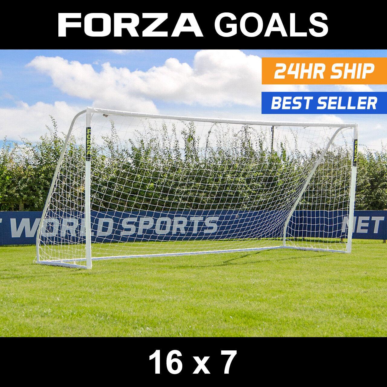 Forza MATCH Fútbol Meta   16 ft (approx. 4.88 m) X 7 ft (approx. 2.13 m)   9 V 9 meta   Meta   objetivos de PVC Senior