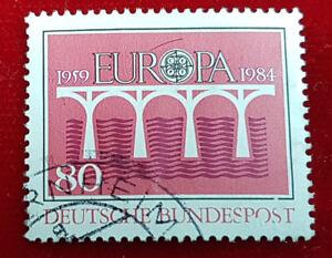 Briefmarke 80 Pfennig Europa 1959 1984 Deutsche Bundespost 1a7 Ebay