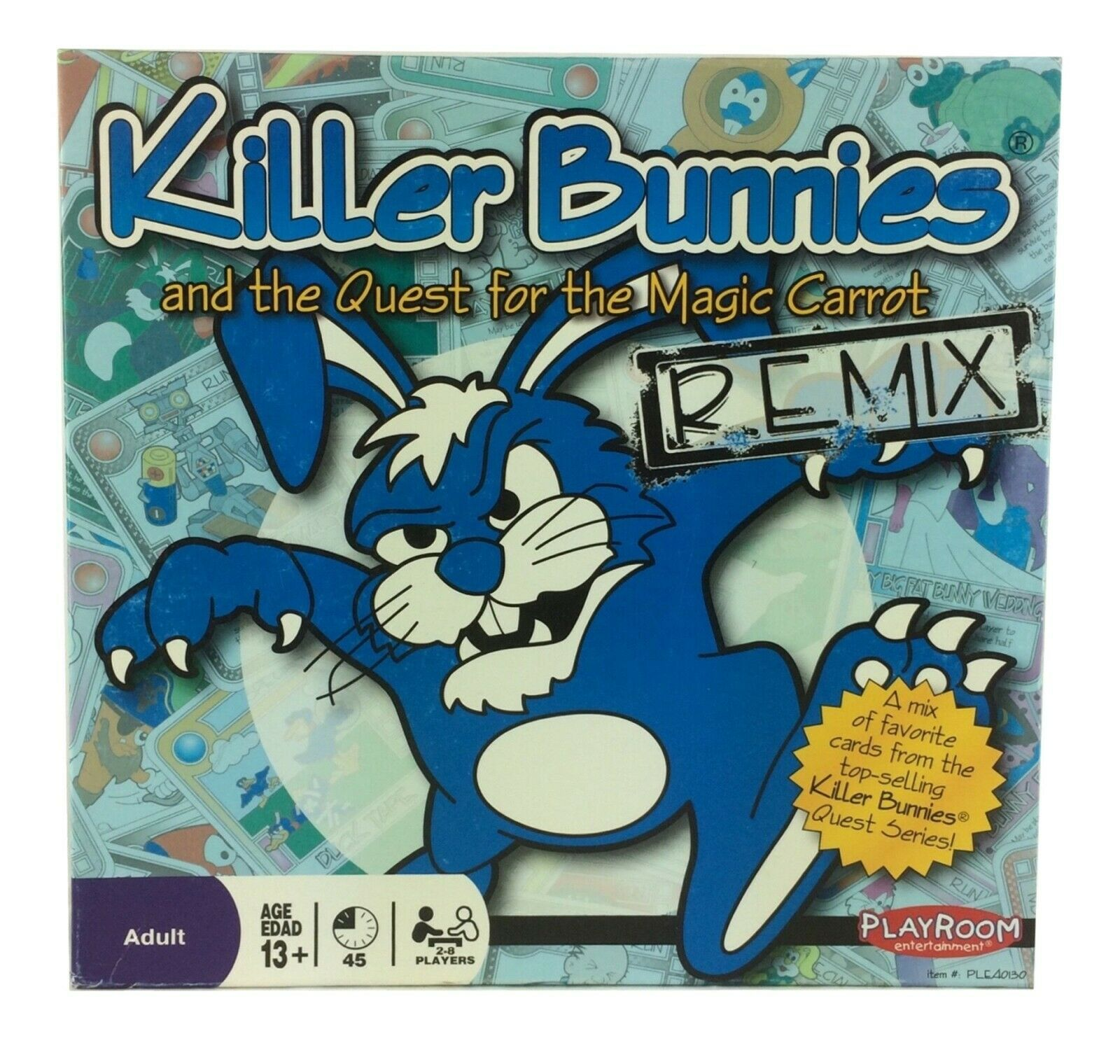 Killer Bunnies & the Quest for the Magic Carred Board Game 2009 Remix