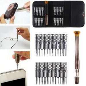 Repair-Kits 25 in 1 Professional Screwdriver Repair Open Tool Kit for Mobile Phones