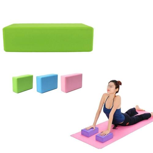EVA Yoga Block Brick Pilates Sports Exercise Gym Foam Workout Stretching Hot.TOP