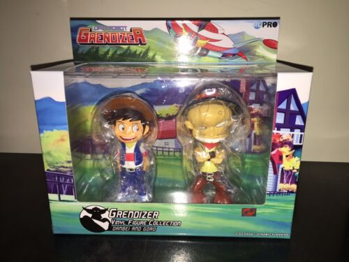 2016 High Dream HL Pro Goldrake Goldorak Grendizer RIGEL /& MIZAR 15 cm MIB