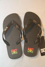ORIGINAL Tong DC SHOES Spray Rasta Taille   38  FR - 5 UK neuf
