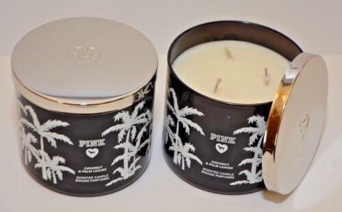 Victoria/'s Secret PINK Coconut /& Palm Leaves Scented candle