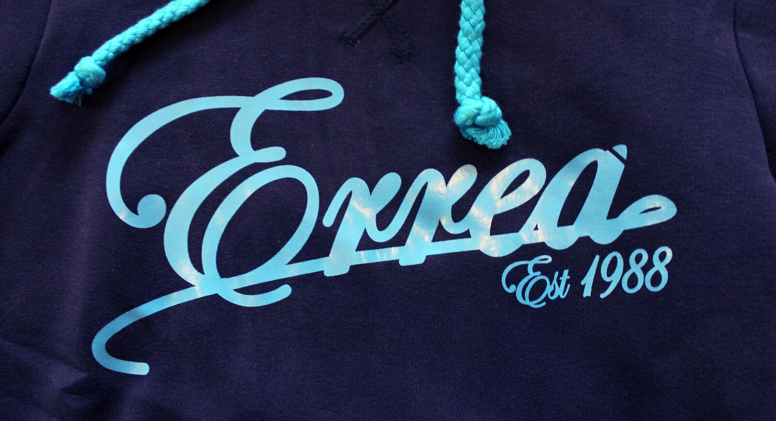 ERREA Miyako bluee junior sweatshirt hooded felpa ragazza blue blue blue con cappuccio b21326