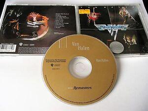 VAN-HALEN-OMONIMO-S-T-SELF-TITLE-CD-HDCD-2000-WARNER-REMASTER-MADE-IN-GERMANY