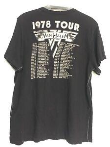Van Halen women\u2019s tee size Large.