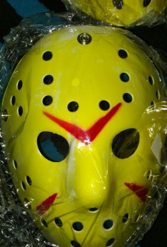 Jason Voorhees Scary Mask prop hockey Halloween Creepy MASK Friday13th Scary Saw