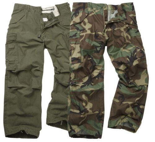 Original Vintage US GI Militare L/'M65 campo Pantaloni