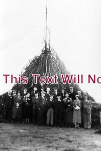 NT-123-King-Georges-Jubilee-Bonfire-Gringley-On-The-Hill-Nottinghamshire-1936
